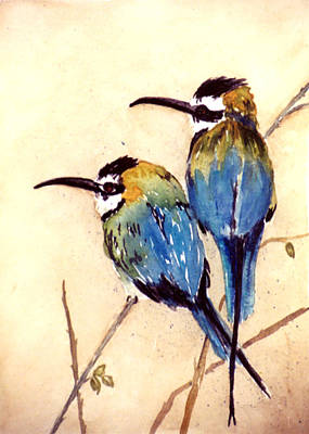 Bee Catchers Art Print