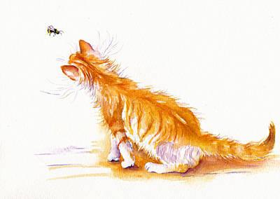 Bee Curious Art Print