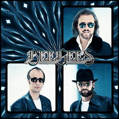 Bee Gees I Art Print