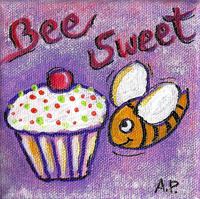 Painting - Bee Sweet by Audrey Peaty