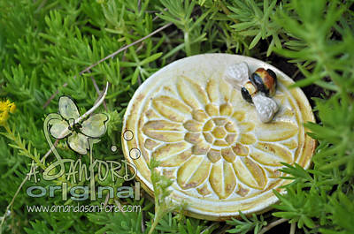Bee-ware Art Print by Amanda  Sanford