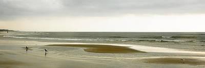 Beach Panorama In Goa Art Print by Kedar Munshi