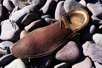 Photograph - Beach Sole  by Aidan Moran