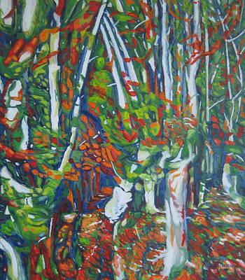 Beech Trees Art Print