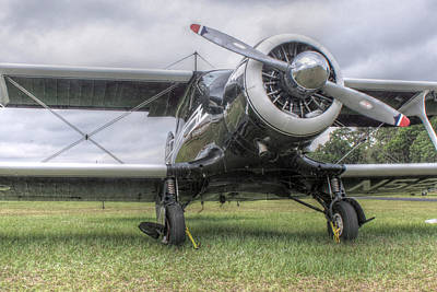 Photograph - Beechcraft Staggerwing by Howard Markel