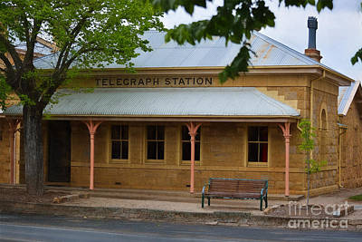Photograph - Beechworth Telegraph Station by Stuart Row