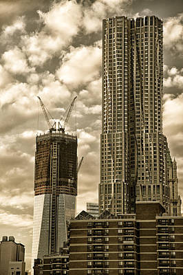 Photograph - Beekman Tower In Manhattan by Celso Diniz