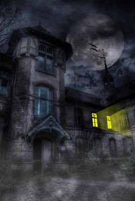 Berlin Germany Digital Art - Beelitz Horror Nights by Nathan Wright