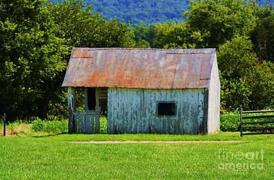 Barn Lots Photograph - Has Seen Better Days by Patti Whitten