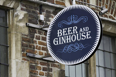 Photograph - Beer And Ginhouse by David Freuthal