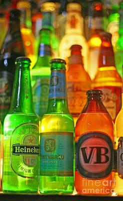 Beer Bottles Art Print by Tamas Virag