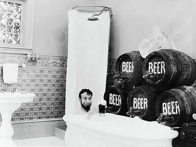 1916 Photograph - Beer, C1916 by Granger