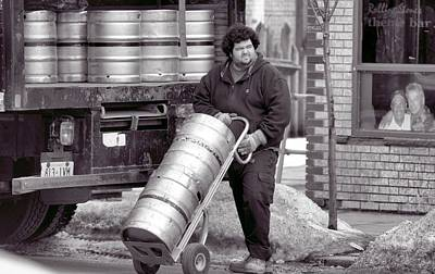 Photograph - Beer Delivery by Douglas Pike