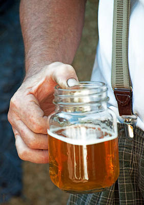 Photograph - Beer He Drank by Gwyn Newcombe