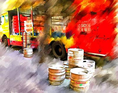 Good Friday Digital Art - Beer Offload Before World Cup Final 1 by Yury Malkov