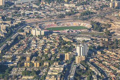Aerial Er Photograph - Beer Sheva Statium, Beer Sheva by Ofir Ben Tov
