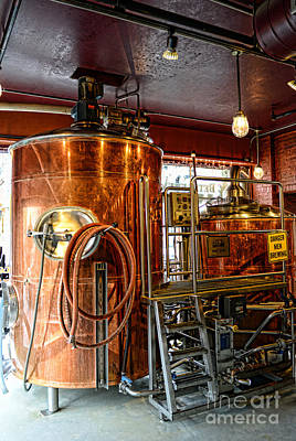 Beer - The Brew Kettle Art Print by Paul Ward