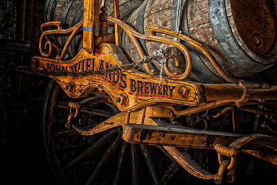Photograph - Beer Wagon by Thomas Hall