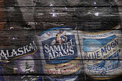 Handcrafted Photograph - Beers by Joe Hamilton