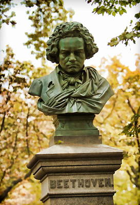 Beethoven In Central Park Art Print by Alice Gipson