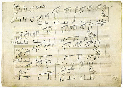 Painting - Beethoven Sonata, 1801 by Granger