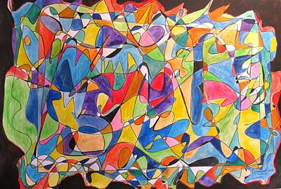 Painting - Beethoven's Symphony Number Five by Esther Newman-Cohen