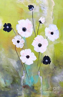 Painting - Beetle Flowers by France Laliberte