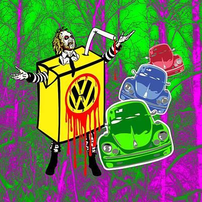 Beetlejuice Digital Art - Beetlejuice by Alan Hogan