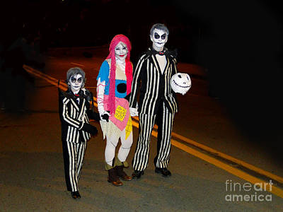 Beetlejuice Photograph - Beetlejuice And Family by Al Bourassa