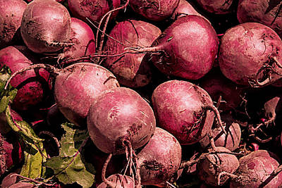 Photograph - Beets - Earthy Wonders by Kathy Bassett