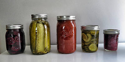 Photograph - Beets Pickles Tomatoes by Patricia Januszkiewicz