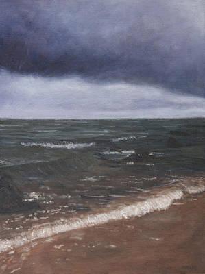 Painting - Before The Rain by Masami Iida