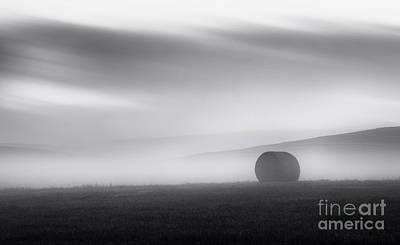 Bale Photograph - Before Sunrise by Dan Jurak