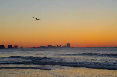Ocean City Nj Photograph - Before Sunrise In Ocean City Nj by Bill Cannon