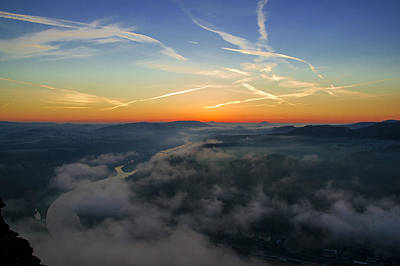 Photograph - Before Sunrise On The Lilienstein by Sun Travels