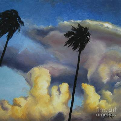Before Sunset Print by Jindra Noewi