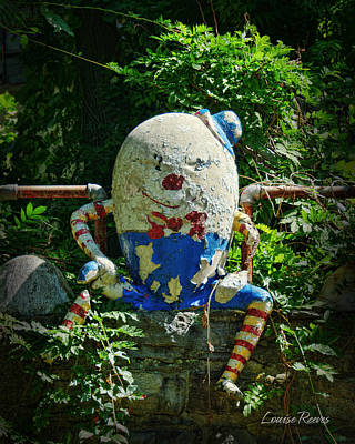 Humpty Dumpty Photograph - Before The Fall by Louise Reeves