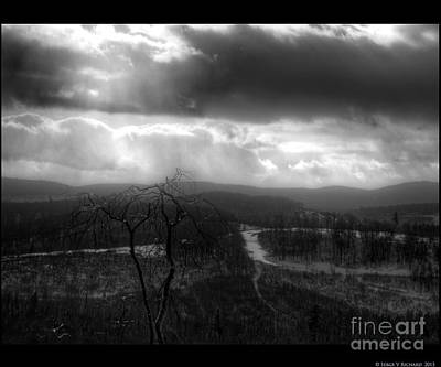 Photograph - Before The Hills by Serge V Richard