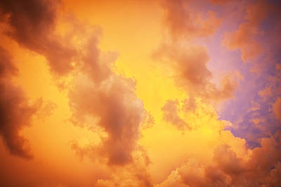 Photograph - Before The Storm Clouds Stratocumulus 10 by Rich Franco