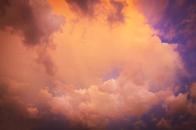 Photograph - Before The Storm Clouds Stratocumulus 7 by Rich Franco