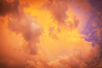 Photograph - Before The Storm Clouds Stratocumulus 9 by Rich Franco