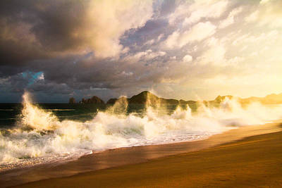 Art Print featuring the photograph Before The Storm by Eti Reid