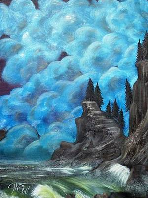 Gypsy Painting - Before The Storm by The GYPSY And DEBBIE