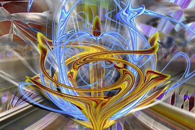 Digital Art - Before The Throne by rd Erickson