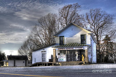Country Store Photograph - Before Walmart by Benanne Stiens