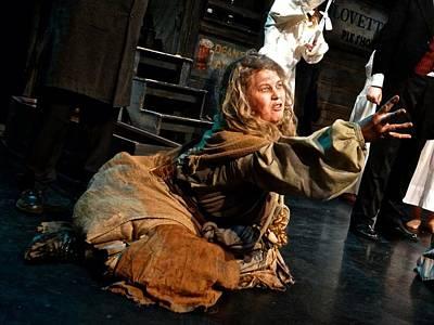 Sweeney Todd Photograph - Beggar by Lizzy Garretty
