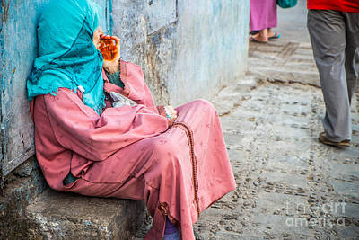 Sabino Photograph - Beggar With A Red Hand by Sabino Parente