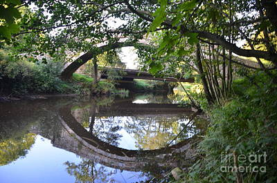 Photograph - Beggars Bridge.   Three by Doug Thwaites
