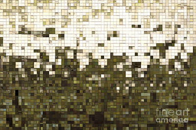 Beige Glass Painting - Begin To Find My Way- Great Big Art by Great Big Art