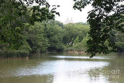 Photograph - Beginning Of Central Park Lake by John Telfer
